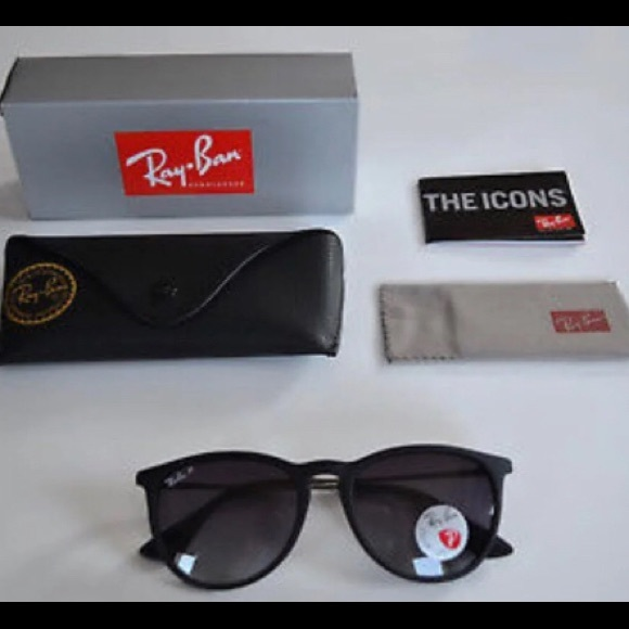 f4e6c7235cf Ray-Ban Erika Polarized rb4171 622 8g Sunglasses